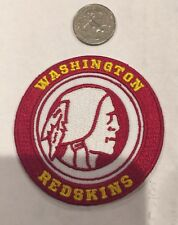 Washington Redskins vintage embroidered iron  on logo patch  3x3""