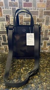 Lululemon Limited Now And Always Tote Micro NWT Jacquard Camo Obsidian Black