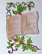X 5 Juegos Tattered Lace Navidad 2018 Vintage Carol Libro Die Cut conjuntos-Free P & P
