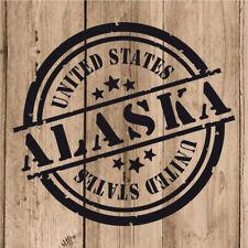 Vinilo de Corte Alaska Pegatina Alaska USA United States 10 cm Adhesivo Pared