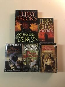 Terry Brooks 5 x Paperback Book Bundle