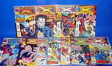 Batch of comics THE ADVENTURES OF THE X-MEN-11 numbers