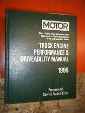 1993-96 MOTOR LIGHT TRUCK ENGINE PERFORMANCE DRIVEABILITY SERVICE MANUAL