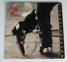 """Steve Stevens MICHAEL JACKSON Signed Autograph """"Dirty Diana"""" Album Vinyl LP"""