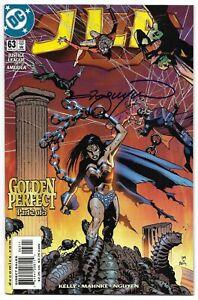 JLA 63 Signed Nguyen Justice League Wonder Woman Superman Green Lantern Flash