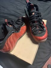 2011 NIKE AIR FOAMPOSITE ONE METALLIC RED sz 8.5 retro og 314996-610