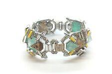 Alexis Bittar Hinge Statement Bracelet W/Swarovski Crystals $495