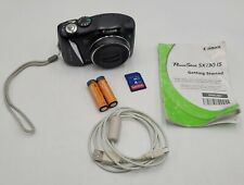 Canon PowerShot SX130 IS 12.1MP Compact Digital Camera w/ 12X Zoom Lens