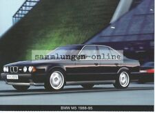 BMW M5 1988-95 Car Automotive Photo Postcard Ak Press Photo Motor Sports