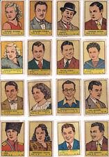 Colección completa cromos ALBUM ESTRELLAS DE CINE ( nº 2 ) 1941 Ed. Valenciana