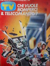 TV Sorrisi e Canzoni n°44 1984 Mama Non M'Ama - Hateley & Wilkins [C67]
