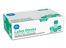 Gloves By Berry Medics 100 PCS Latex Small/Medium/Large/X-Large Ships Next Day