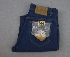 Vintage NEW Men's LEE Riders Blue Denim Jeans NWT 28x31 Regular Fit