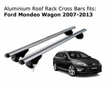 Aluminium Roof Rack Cross Bars fits Ford Mondeo Wagon with roof rails 2007-2013
