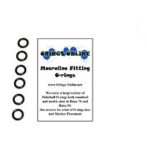 Macroline Fitting Inner O-rings Paintball Oring x 25 Pieces
