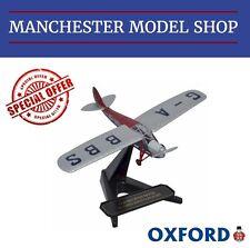 Oxford Diecast 72PM003 1:72 DH Puss Moth G-ABBS Kings Flight NEW CLEARANCE