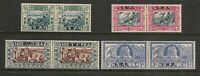 South West Africa 1938 Vortekker Memorial Set Mint Hinged