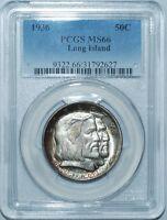 1936 PCGS MS66 Long Island Commemorative Half Dollar