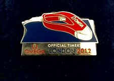 London. Olympics 2012 OMEGA Official Time Keeper pin badge