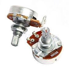 2Pcs Potentiometer 500K B Full Size 24mm Base Dia/18mm Shaft
