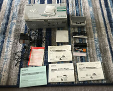 Rare Boxed SONY MZ-E909 Walkman MD Player -  With  All Accessories