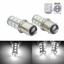 2x BAZ15D P21/4W LED 18 SMD Ampoules Blanc Xenon 6000K Feu de Recul Arrière Jour