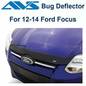 AVS 320029 - Fits 12-14 Ford Focus Aeroskin Dark Smoke Hood Protector Bug Shield