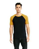 Next Level Apparel Unisex T Shirt Raglan Short Sleeve T-Shirt N3650 XS-3XL Tee