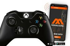 Black Xbox One S SMART Custom Modded Controller with PROGRAMMABLE PADDLES.FPS