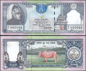 NEPAL 1997 limited quantty issued Rs250 COMMEMORATIVE BANKNOTE,P #42,sign13, UNC