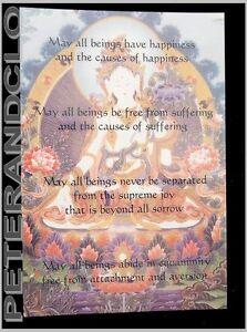 Postkarte Tibetische White Tara Weiß Buddhistisches Nepal 9269