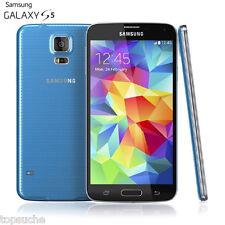 16Go Samsung Galaxy S5 SM-G900A Débloqué 4G Smartphone Portable 16MP Bleu