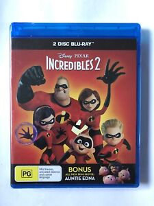 Incredibles 2 (Blu-Ray, 2-Discs) Brand New & Sealed Movie 🍿 Rated PG Disney