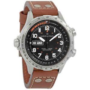 Hamilton Khaki Aviation X-Wind Automatic Black Dial Men's Watch H77755533