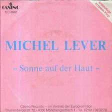 """7"""" Michel lever/soleil sur la peau (red vinyl)"""