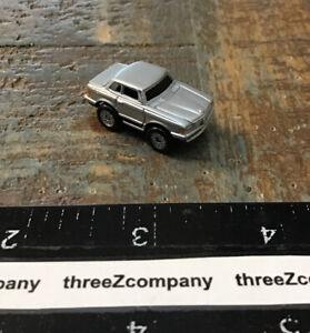 Micro Machines Mercedes-Benz 450SLC Silver/Black Stripe