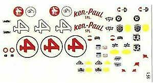 Fred Cady Decal #156 To Do The 1960 Ken Paul  Watson Special #4