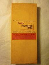 "KODAK SPECTROSCOPIC PLATES 12 plates 4 x 10"" Type I-N"