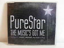 CD 4 titres PURESTAR The music's got me 5050466 4660 2 0
