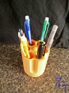 Wild Old West Revolver Cylinder Pen Pencil Holder - 6 Pens - Choice of Colors