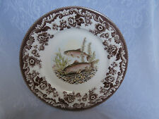 SPODE WOODLAND NORTH AMERICAN FISH RAINBOW TROUT 9.25 Inch LUNCHEON PLATE RARE