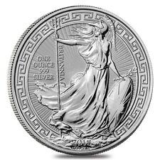 1 Oz Britannia Oriental Borde 2018 Gran Bretagna 999 Fine Silver - Oncia Argento