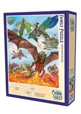 Cobblehill Puzzles Multi 400 piece jigsaw puzzle - Dragon Flight 	 CBL54593