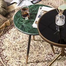 Beistelltisch Marvelous Ø 45 cm Anstelltisch Sofatisch Tisch Marmor Couchtisch