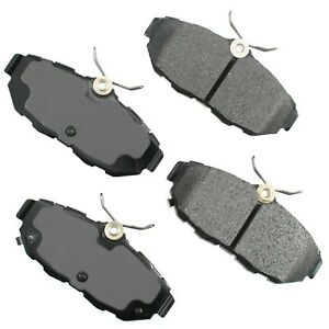 For Ford Mustang Base GT Shelby GT500 Rear ProAct Disc Brake Pads Akebono