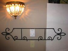 Plate Rack, Wall Mount, display rack, 2 plate, Square Tube type, Black