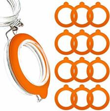 MOYENNEReplacement Rubber Gasket Seal - Glass Jar Seals - 12 Pack Silicone G...