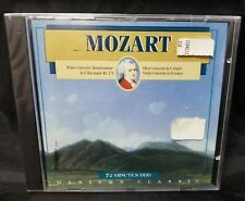 Mozart Concertos Masters Classic CD Piano Oboe, Violin NEW Unopened Compact Disc