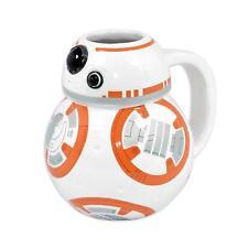 Star Wars Episode 7 3D Tasse BB-8 Androide - platische Premium Kaffeetasse 450ml