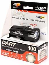 CygoLite Dart 100 Lumens 6-Mode USB Rechargeable LED Bicycle Headlight Light